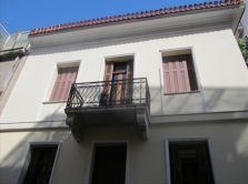 Neoclassical building in Plaka, Athens Center